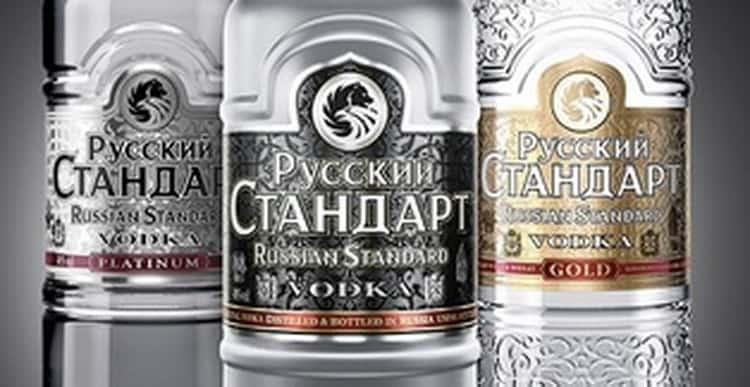Как выбрать водку русский стандарт