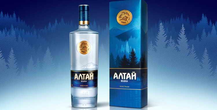 Обзор водки Алтай
