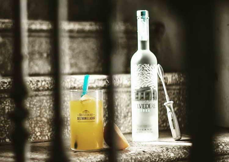 польская водка бельведер коктейли