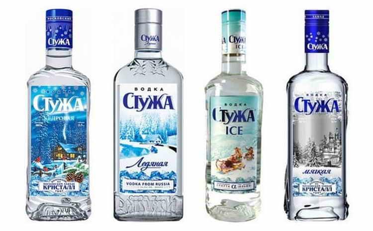 водка Стужа