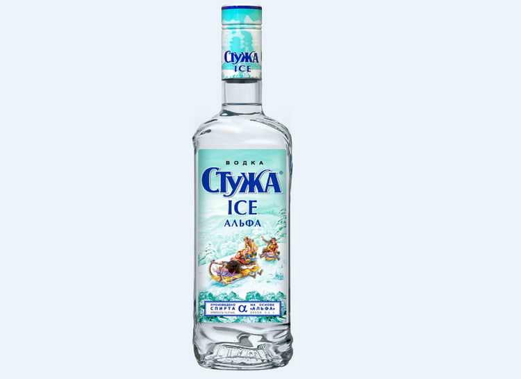 Водка Стужа Ice Альфа