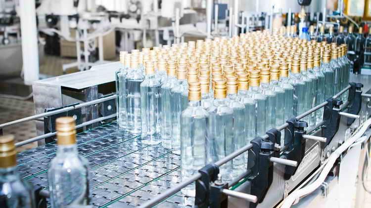 Производителем водки Ведаявляется Мариинский ЛВЗ