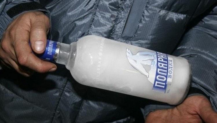 Еще один метод очистки водки это вымораживание.