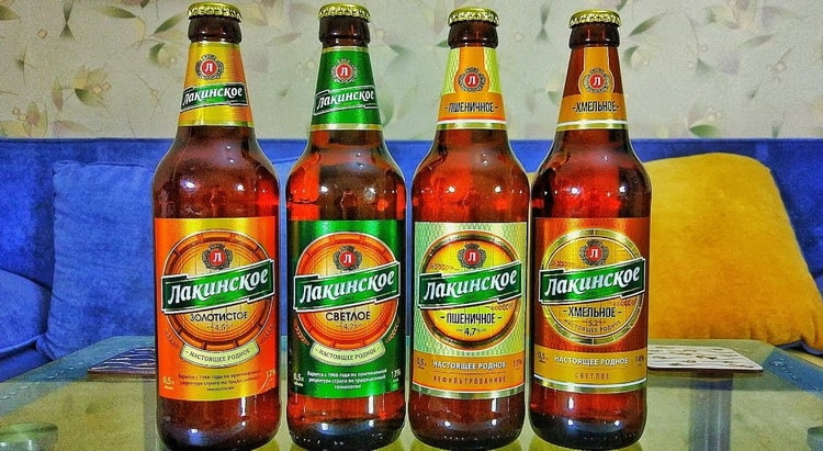 Чем отличается пиво лакинское